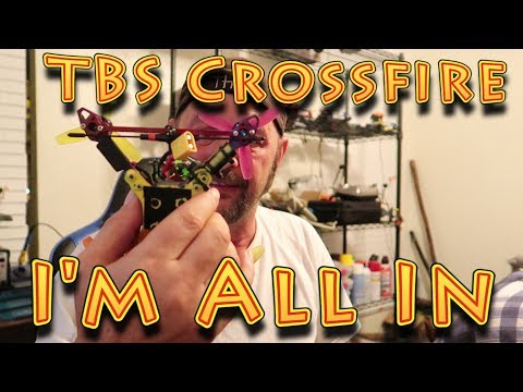 TBS Crossfire Notes and Maiden Flight!!! (07.16.2018) - UC18kdQSMwpr81ZYR-QRNiDg