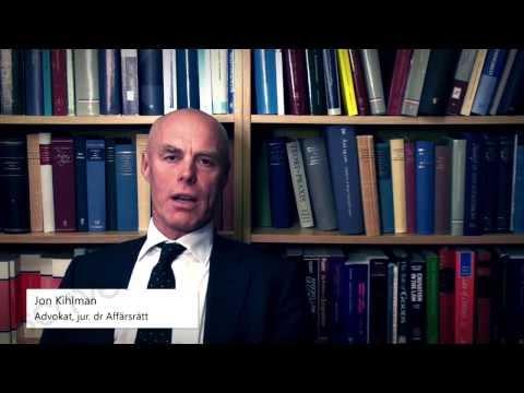 Advokat, jur. dr Jon Kihlman om formkrav och e-signering