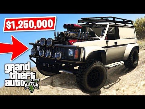 *NEW* GTA 5 4x4 Off-Road Hellion Jeep $1,250,000 Spending Spree! (GTA 5 New Cars) - UC2wKfjlioOCLP4xQMOWNcgg