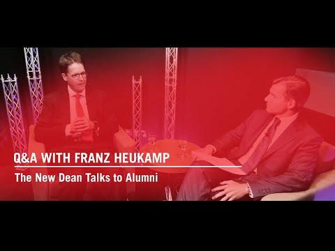 Q&A With Franz Heukamp: The New Dean Talks to Alumni