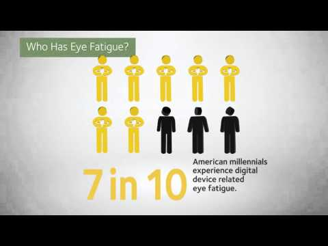 Eye Fatigue: Who Has It and What Causes It?