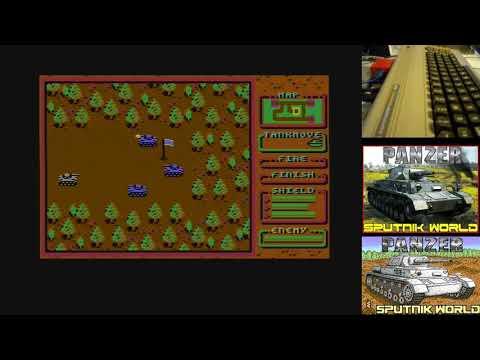 Jugando a Panzer en Commodore 64 - Full game
