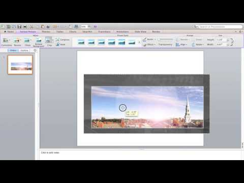 How to Create Facebook Cover Graphic in PowerPoint