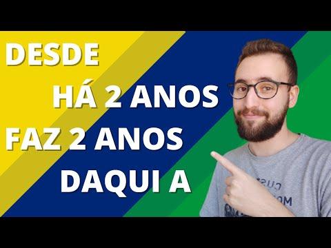 Expressões de tempo em português | Vou Aprender Português