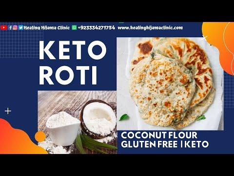 Keto roti / naan / paratha /khobz - step by step (