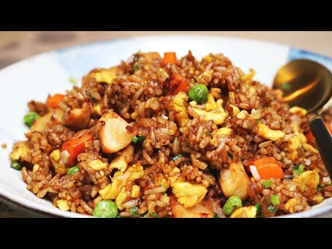 BETTER THAN TAKEOUT AND EASY! Chinese Chicken Fried Rice Recipe - UC3HjB3X8jeENm46HCkI0Inw