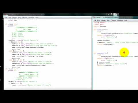MySQLdb+Python : 11