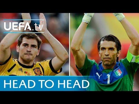 Casillas v Buffon - Porto v Juventus - UEFA Champions League highlights