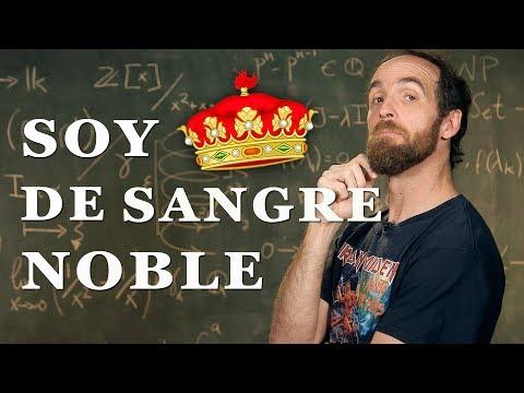 ¡Soy de sangre noble! | Árbol Genealógico de las Matemáticas
