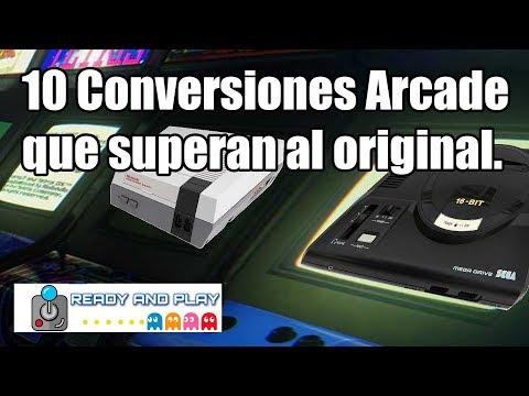10 CONVERSIONES VS 10 ARCADES