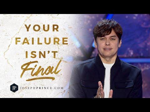 Your Failure Isnt Final  Joseph Prince