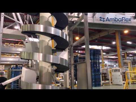 AmbaFlex Spiral Conveyor Portal Solution