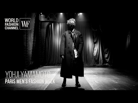 Yohji Yamamoto fall-winter 21-22 | Paris men's fashion week