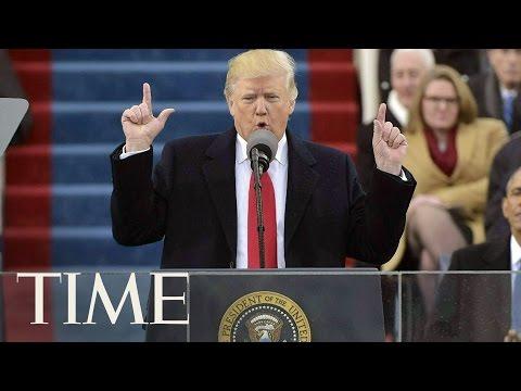 President Donald Trump's Inaugural Address   Donald Trump Inauguration   TIME