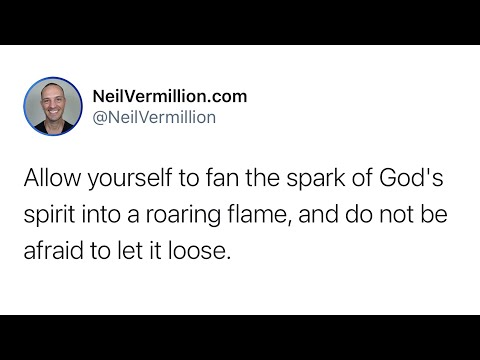 My Fire Placed Within You - Daily Prophetic Word