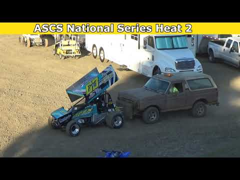 2021 Fred Brownfield Classic, Night 1, ASCS National Series Heat Races 1,2,3 and 4 - dirt track racing video image