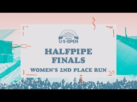 2018 Burton U·S·Open Women?s Halfpipe Finals ? Maddie Mastro's 2nd Place Run