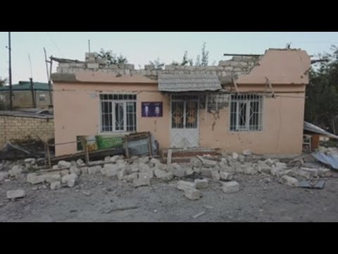 Azerbaiyanos y armenios se acusan mutuamente de violar el alto el fuego