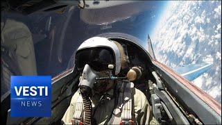 VESTI EXCLUSIVE! Russian Star Wars Program - Russia Training For Stratosphere Combat!
