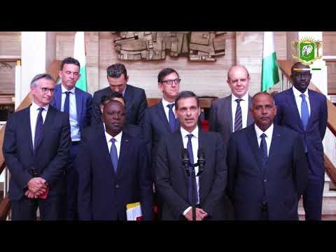 Le Chef de l'Etat s'est entretenu avec Rodolphe SAADE, PDG de CMA-CGM, ce lundi 07 mai 2018