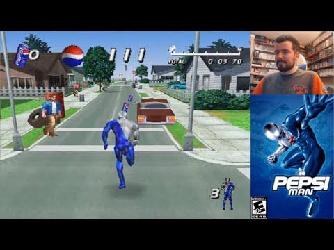 PEPSIMAN (PlayStation) - Gameplay en Español PS1    ¿MORRALLA O GENIALIDAD?