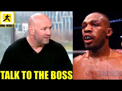 Jon Jones needs to get off the internet and talk to Dana White to make fight vs Ngannou happen,Yair