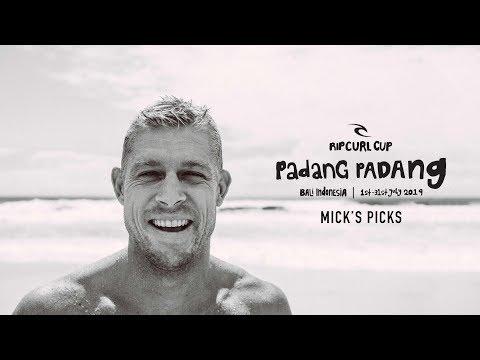 Mick Fanning's Picks | Rip Curl Cup  2019, Padang Padang, Bali