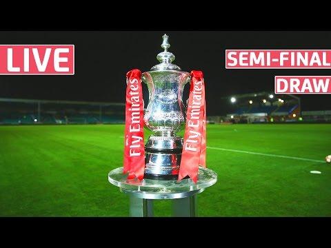 Live Draw - 2016/17 Emirates FA Cup Semi-Final