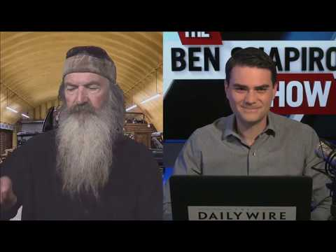 EXCLUSIVE: Ben Shapiro with Phil Robertson: Ben speaks with Papa Phil Robertson of Duck Dynasty f...
