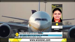 WION Wallet: Vistara to hire Jet's 100 pilots & 400 cabin crews as well