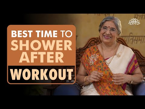 Healthy Tips | How soon should one take shower after workouts? | Dr. Hansaji Yogendra