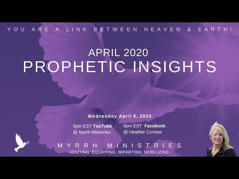 APRIL 2020 Prophetic Insights