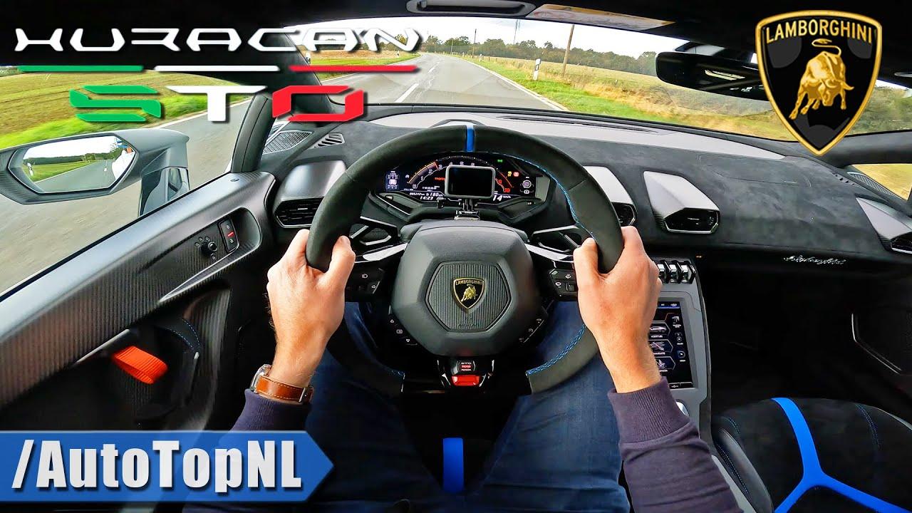 LAMBORGHINI HURACAN STO *DRIVE & SLIDE* by AutoTopNL