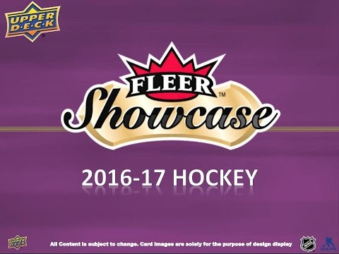 Box Busters: 2016-17 Fleer Showcase Hockey