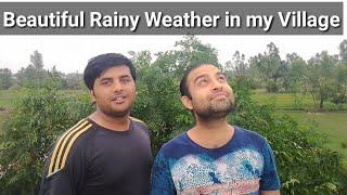 Rainy Day in Our Village - Mere Gaon ki Barish - Beautiful Rain in a Village Day - Village Vlog 2019