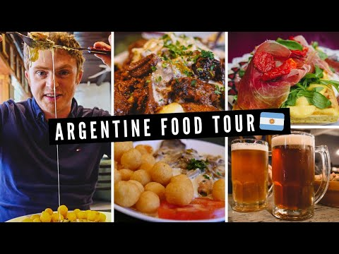 ARGENTINE FOOD TOUR | Patagonian Cuisine feat. Trout + Deer Stew + Artisanal Chocolates and More! 🇦🇷