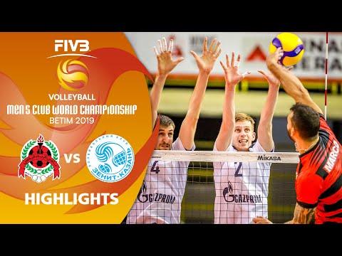 Al-Rayyan vs. Zenit Kazan - Highlights | Men's Volleyball Club World Champs 2019