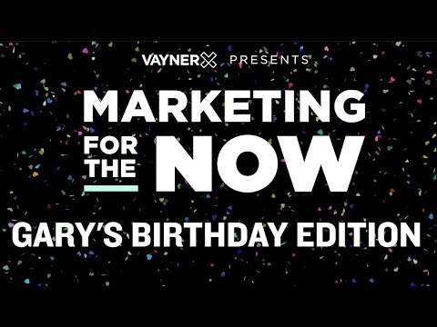 Marketing for the Now - A Surprise Birthday Party for Gary!