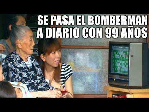 Abuela de 99 años se pasa el Bomberman cada día desde haces 26 años