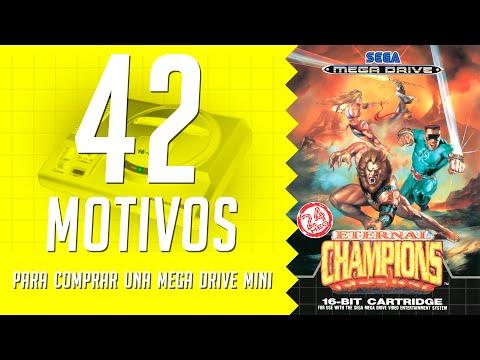 Eternal Champions. 42 motivos para comprar una Mega Drive Mini. (39/42)
