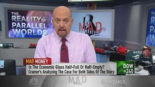 Underlying economy is good, but fear will drive us to recession, says Cramer