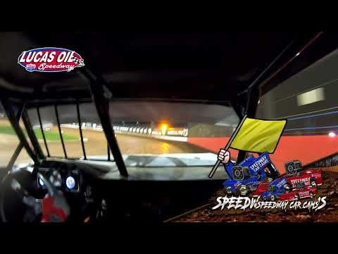 #21 Darren Phillips - Usra Stock Car - 5-15-2021 Lucas Oil Speedway - In Car Camera - dirt track racing video image