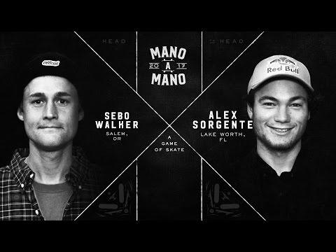 Mano A Mano 2017 - Final Four: Sebo Walker vs. Alex Sorgente