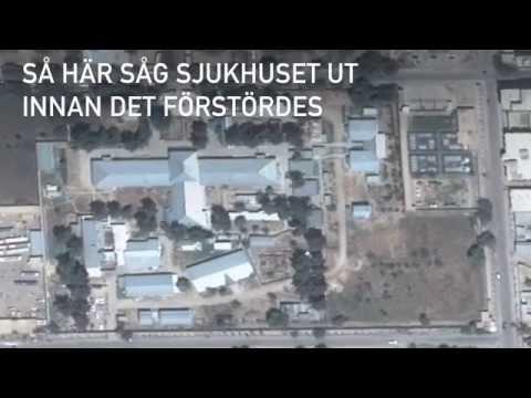 Så här såg vårt traumasjukhus i Kunduz ut före bombningen