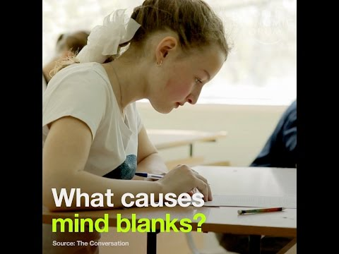 What causes mind blanks