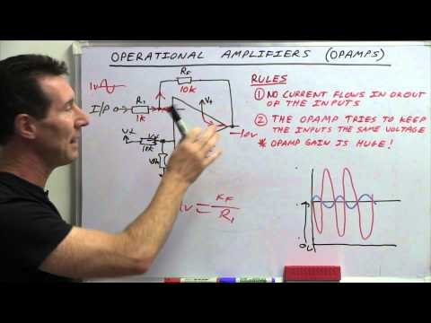 EEVblog #600 - OpAmps Tutorial - What is an Operational Amplifier? - UC2DjFE7Xf11URZqWBigcVOQ