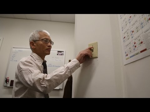 Energy Department Veteran Saves Electricity One Light Switch at a Time
