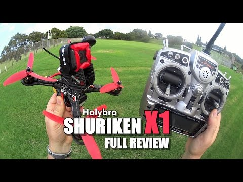 Holybro SHURIKEN X1 - Full Review - [Unbox / Inspection / Flight-CRASH! Test / Pros & Cons] - UCVQWy-DTLpRqnuA17WZkjRQ