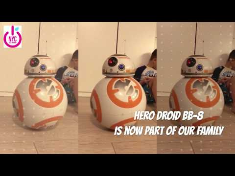 Meet the new member of our Family - Hero Droid BB8!