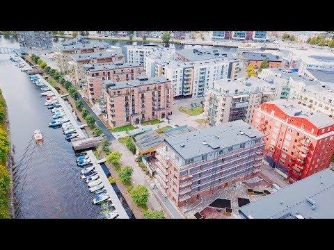600 nya bostäder på Bryggudden i Karlstad